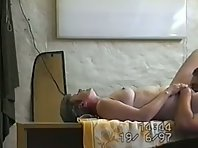 Short-haired mature wife orgasming from oral sex and deep penetration